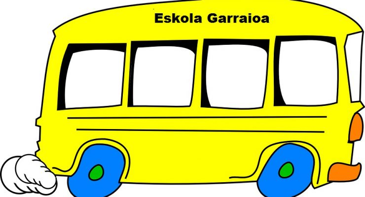 Eskola  Garraioa